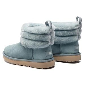 UGG Women's Classic Mini FLUFF Quilted Boot
